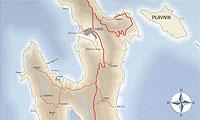 Karta Otoka Cresa